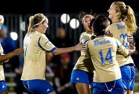 UCLA wins NCAA 1st Round Match vs. SDSU, 3-0