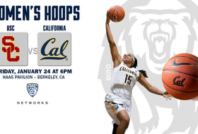 No. 19/16 Cal and USC Set For Pac-12 Battle Friday in Haas