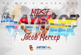 Jacob Mercep Scores Another MPSF Player of the Week Pick