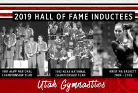 Crimson Club Inducts Two Utah Gymnastics Teams, Kristina Baskett to the 2019 Hall of Fame Class