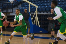 In Friday's NCAA Tournament Matchup, Oregon Ready To Run With Cowboys