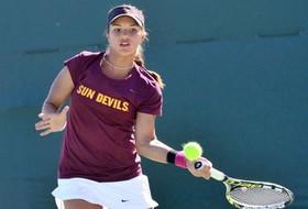 No. 29 Women's Tennis Sweeps NAU, 7-0