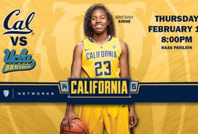 Streaking Golden Bears Host UCLA Thursday at Haas