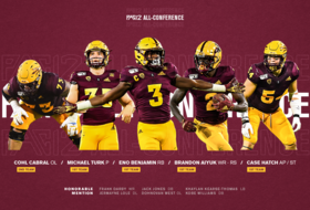 Eleven Sun Devils Named to Pac-12 All-Conference Team