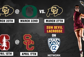 Pac-12 Networks to Air Five Sun Devil Lacrosse Games
