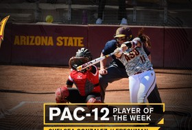 ASU Shortstop Named Pac-12 Player of the Week