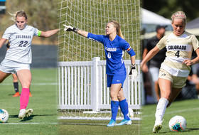 Three Buffs Earn All-Conference