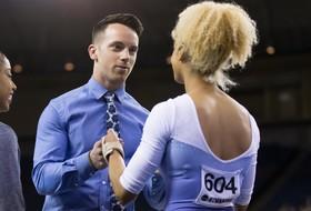 Palange Returns to UCLA Gymnastics Coaching Staff