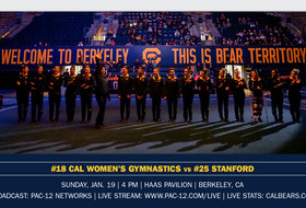 No. 18 Bears Host No. 25 Stanford In Haas Home Opener