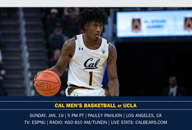 Bears Battle The Bruins In Pauley Pavilion