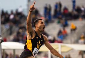 ASU T&F's McBride Ties High Jump School Record At Drake Relays
