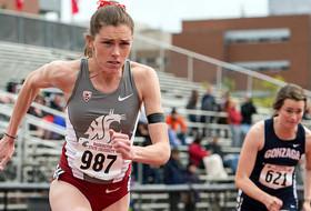 Regan Breaks Cougar Invitational 800m Meet Record