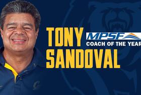 Tony Sandoval Named MPSF Coach of the Year