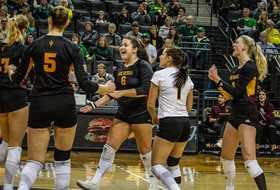 @SunDevilVB Beats Oregon In Five