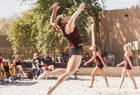 @SunDevilBeachVB Wins Two In Home Exhibition Tournament