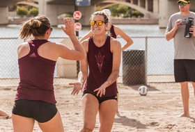 Fall Season Wraps Up For @SunDevilBeachVB In Scrimmage