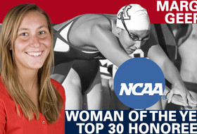 Geer One of 30 Honorees for NCAA Woman of the Year