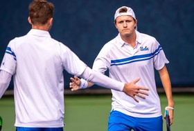 Men's Tennis Heads South for Pacific Coast Doubles