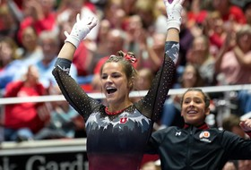 No. 4 Utah Gymnastics Hosts Utah State For Senior Night