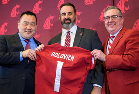 Nick Rolovich Introduced as Cougar Head Coach