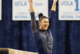 Kyla Ross Repeats as Pac-12 Gymnast of Year