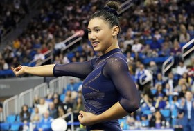 Ross Wins Fifth Pac-12 Gymnast of Week Award