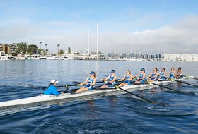 UCLA Rowing Concludes Day One in San Diego