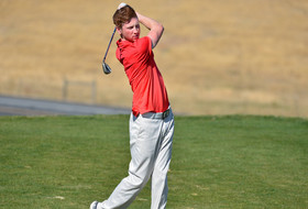 Men's Golf Tied for Fourth through Two