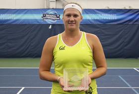 Fabikova Wins Indoor Consolation Final
