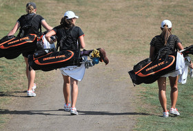 Women's Golf Tied For Eighth After 36 Holes