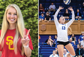 USC Women's Volleyball Adds Transfer Sarah Nelson from Duke