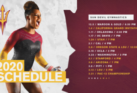 @SunDevilGym Releases 2020 Schedule