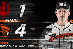 Oregon State Closes Out Indiana, 4-1