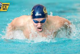 Seliskar Named Pac-12 Swimmer Of The Month