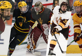 #10 Hockey Hosts Anchorage for Senior Weekend