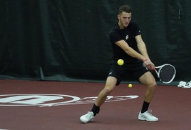Men's Tennis Drops Match Against Cal Poly