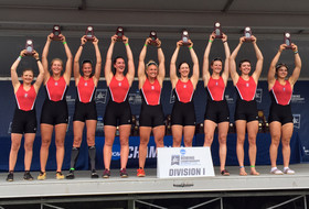 Varsity Eight Takes Second