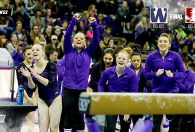 GymDawgs Win Floor and Beam At Stanford