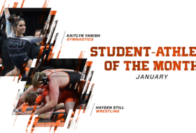 Yanish, Still Named Student-Athletes of the Month