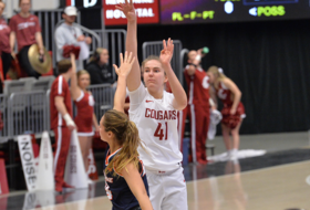Subasic's Double-Double Lifts Cougs to 2-0 Start