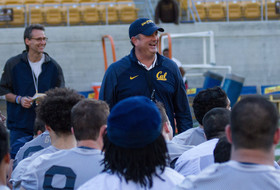 Cal Football Notebook – First Practice In Full Pads Pretty Clean