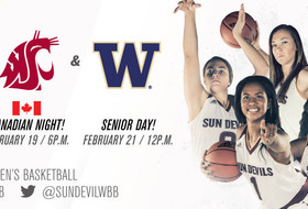 No. 9 Sun Devil WBB Hosts Final Two Home Games of Regular Season Beginning with WSU on Friday Night