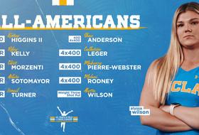 Bruins Earn 12 USTFCCCA Indoor All-America Accolades