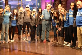 UCLA Women's Soccer Recognized on Tonight Show with Jay Leno