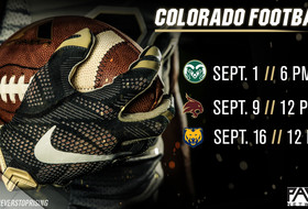 Time, TV Announced For First Three CU Football Games