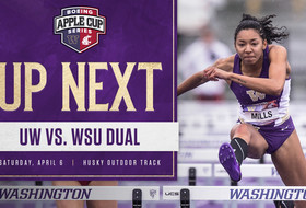 One-Hundredth Dual Meet Set For Saturday At Husky Track