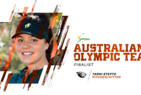 Stepto Named Finalist For Australian Olympic Team