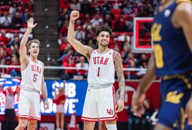 Runnin' Utes Cruise Past Cal, Honor Former Director of Athletics Dr. Chris Hill
