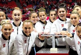 Ute Gymnasts Place Eighth Nationally in GPA
