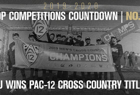 Top Competitions Countdown: No. 3, Men's Cross Country Wins Pac-12 Title